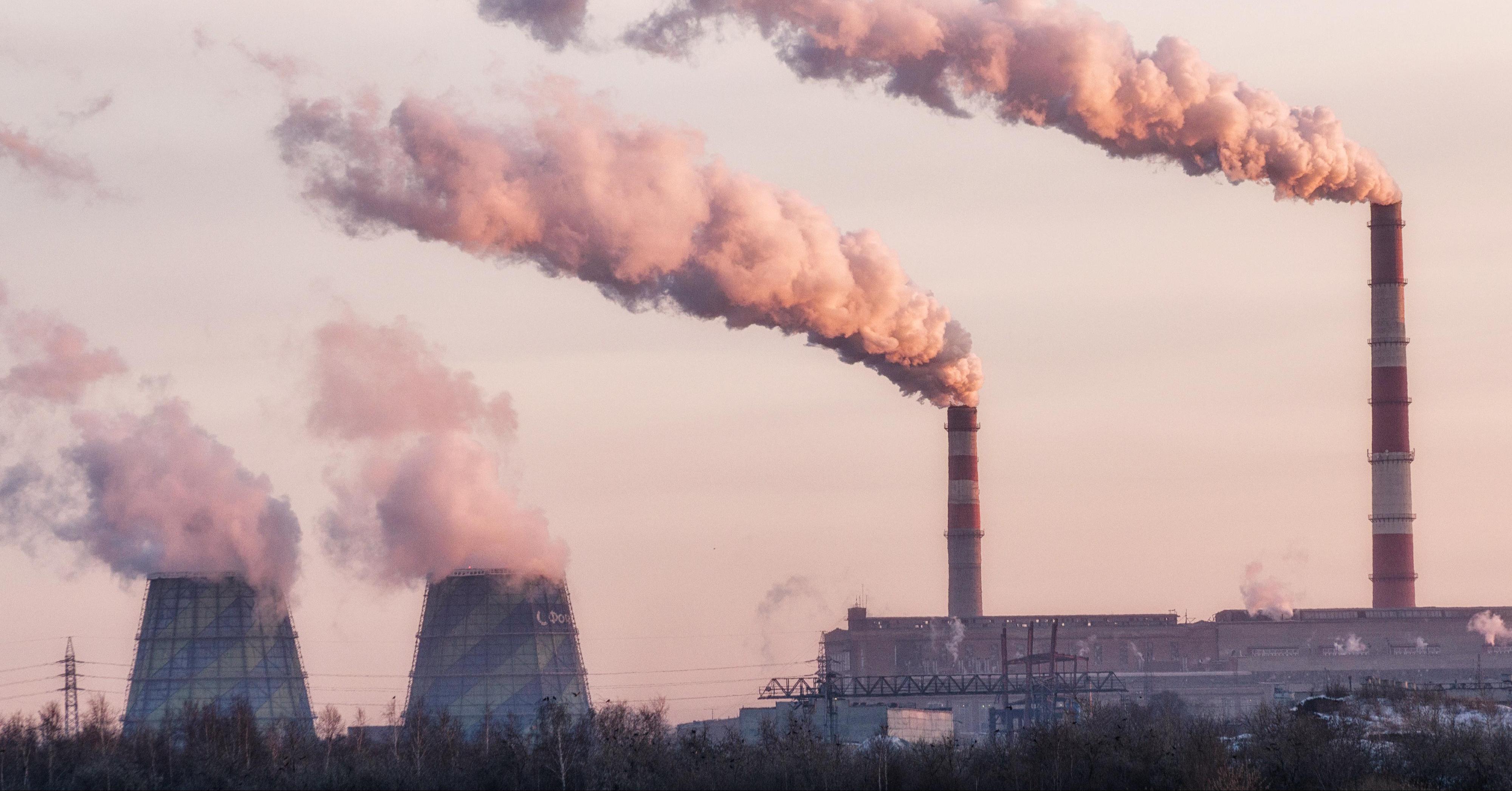 Emissioni inquinanti fabbrica