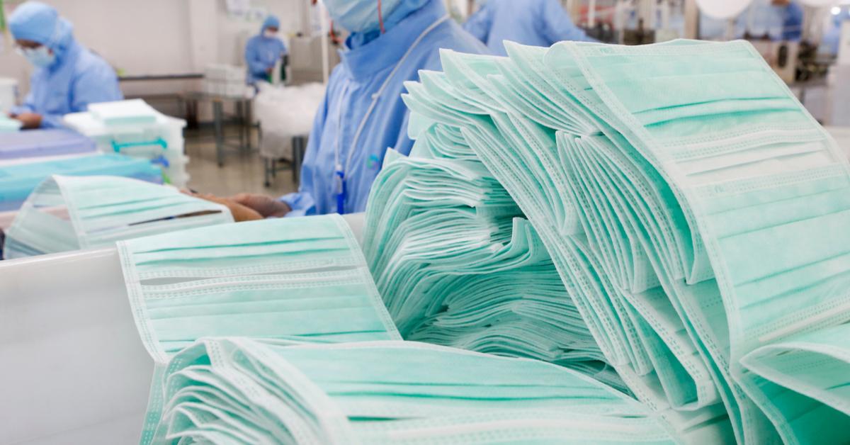 Produzione mascherine chirurgiche