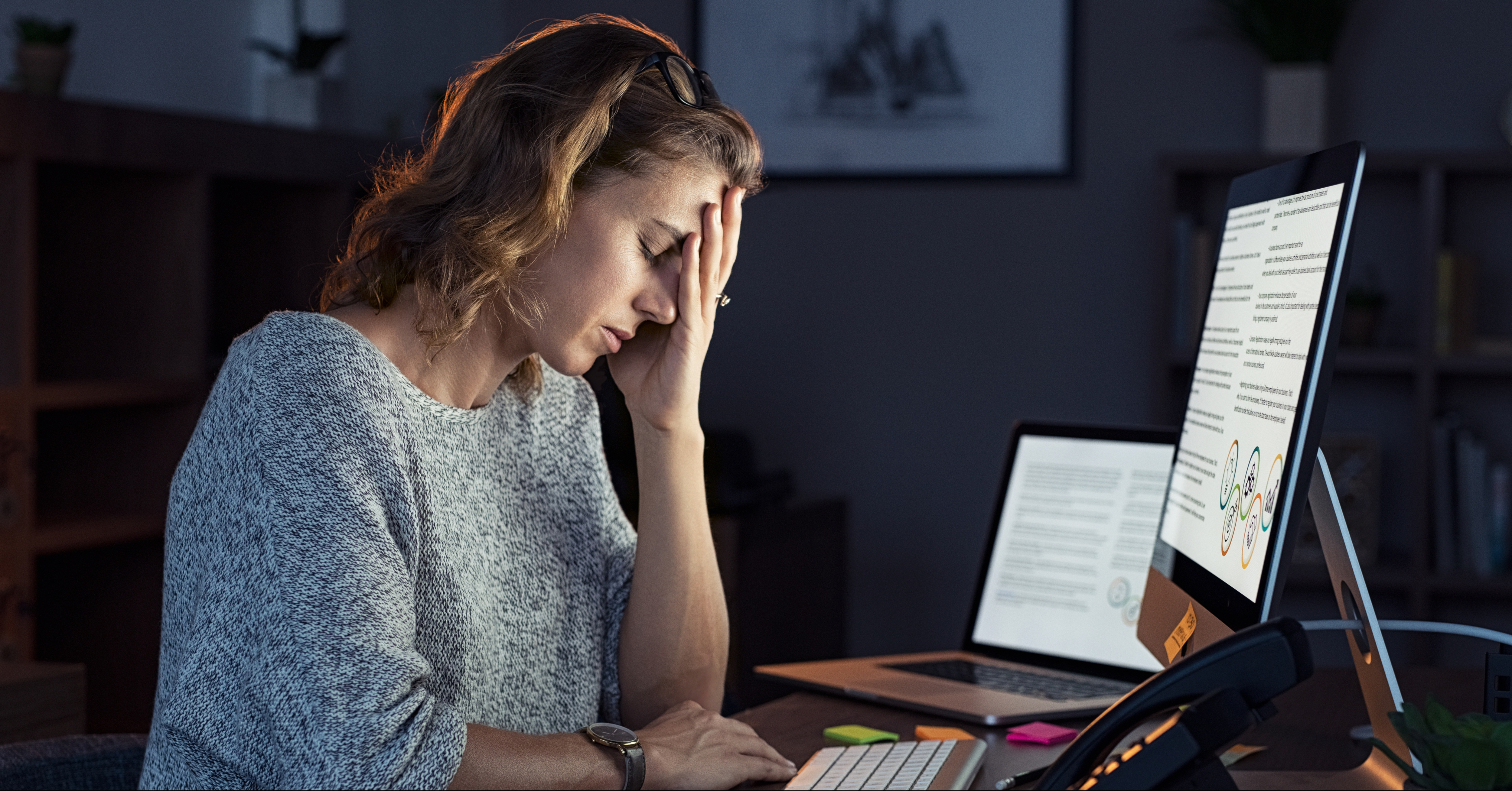 Workaholism ammalarsi di lavoro